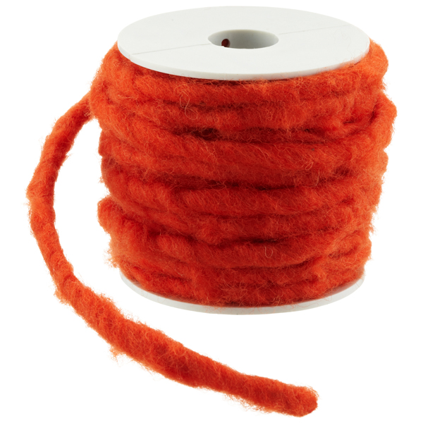 Orange Wool Wire