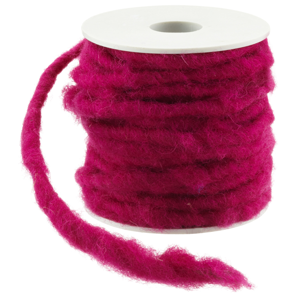 Fuchsia Wool Wire