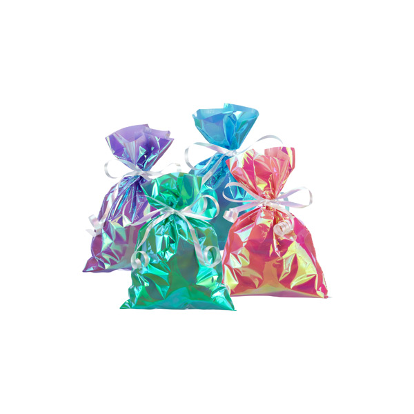 Small Iridescent Gift Sacks