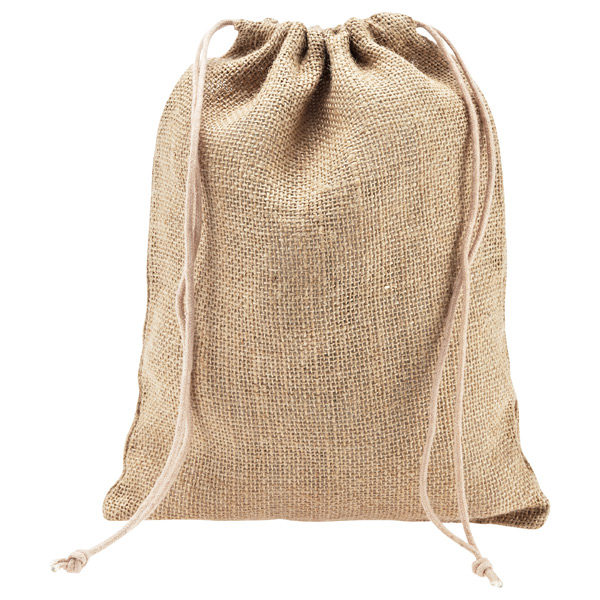 Natural Jute Drawstring Sacks