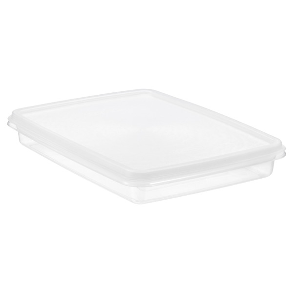 2.54 qt. Shallow Food Keeper Translucent