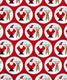 Wrap Santa & Deer Snowglobe Red