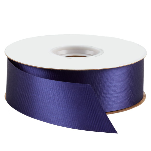 Bulk Satin Ribbon Navy
