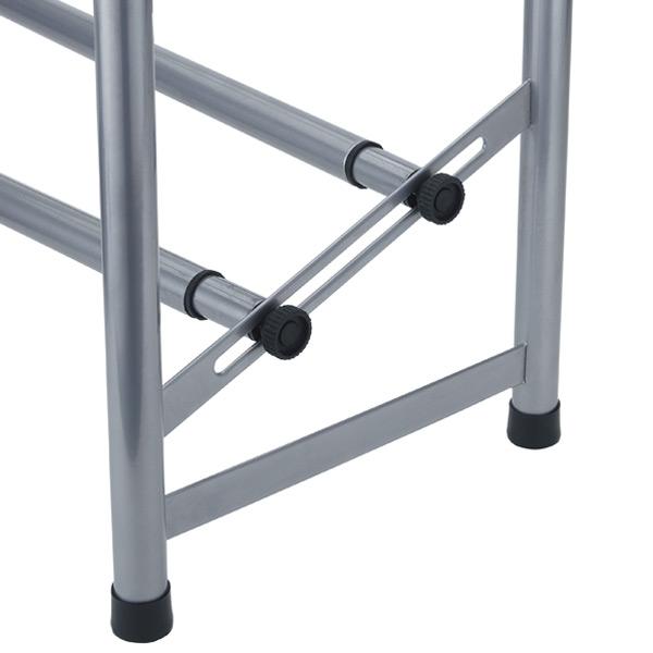 Platinum 2-Tier Adjustable Shoe Rack