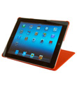 Orange Grip iPad® Cover & Stand