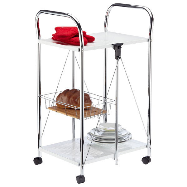 White Sunny Kitchen Trolley