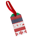 Sweater Stripe Gift Tags