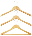 Basic Natural Wood Hangers