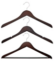 Basic Walnut Wood Hangers
