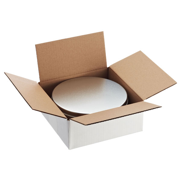Cookie Tin Shipper White