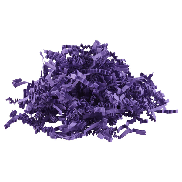 3 oz. Crinkle Cut Paper Shred Purple