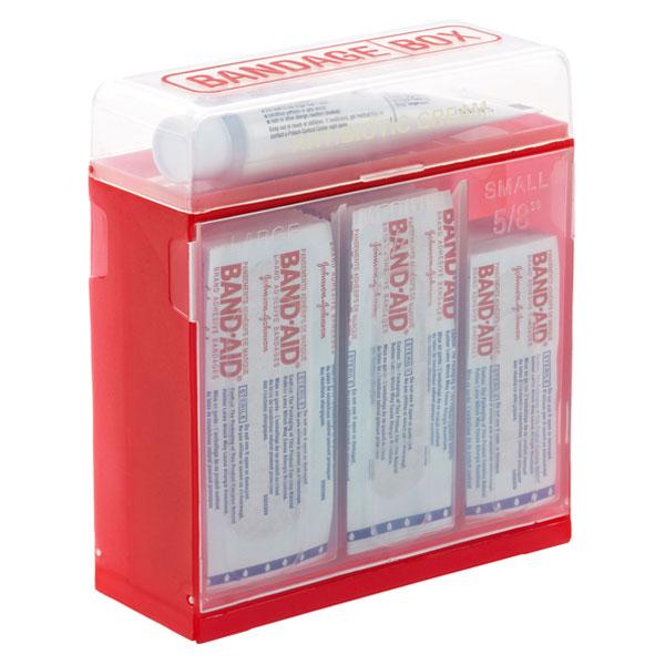 Bandage Box Red/Translucent