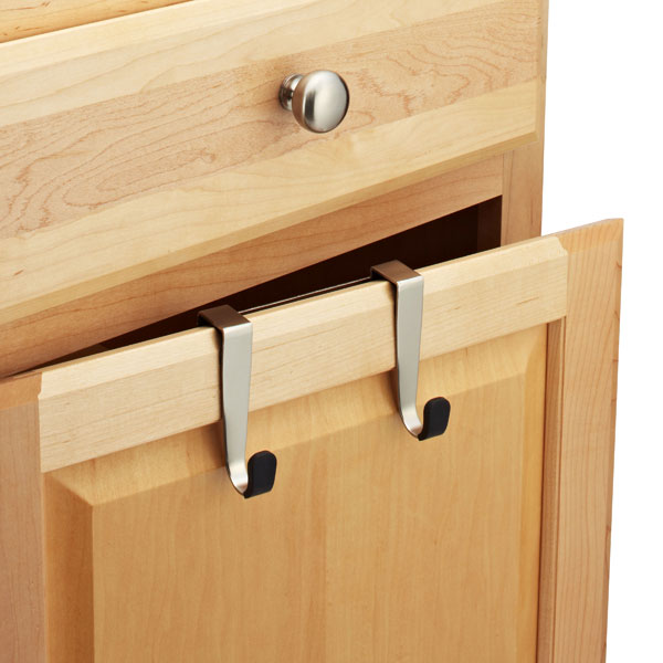 Schnook Overcabinet Double Hook by Umbra