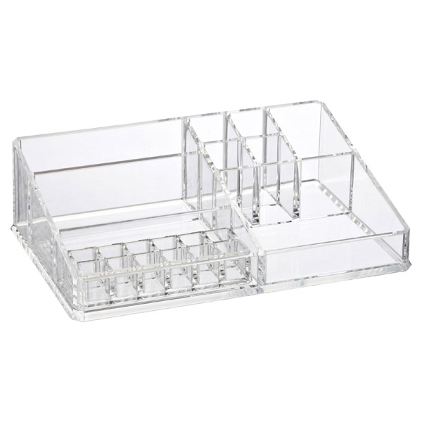 Large Acrylic Makeup Organizer Clear