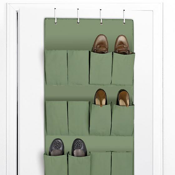 Verde 24-Pocket Overdoor Shoe Bag