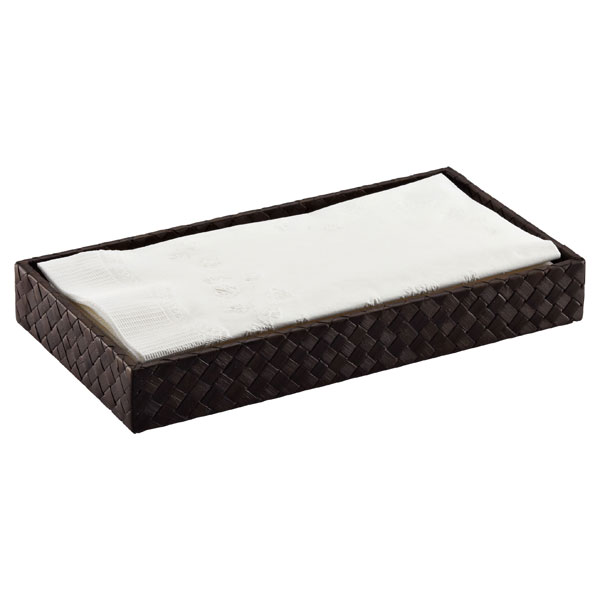 Pandan Guest Towel Tray Java