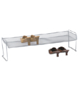 Silver Mesh Stacking Shoe Shelf