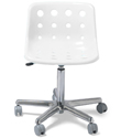 Clear Polo Desk Chair