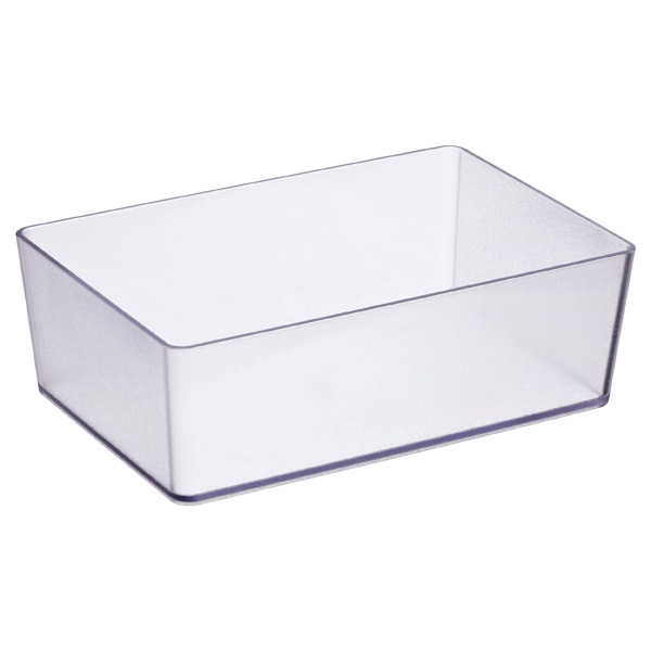 elfa utility Rectangle Box Translucent