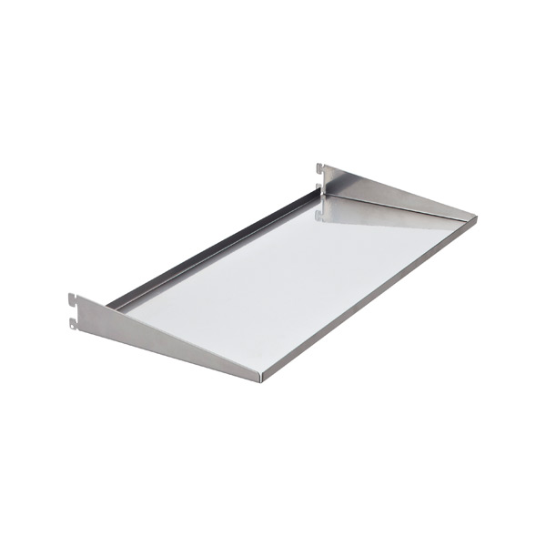 "10"" x 2'  x 1-7/8"" h elfa utility Shelf/Tray Platinum"