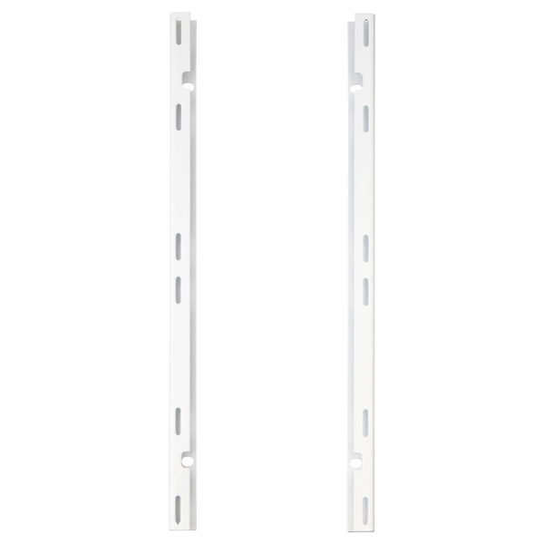 White elfa utility Board Wall Mounts