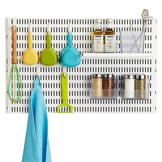 White elfa utility Board Hooks