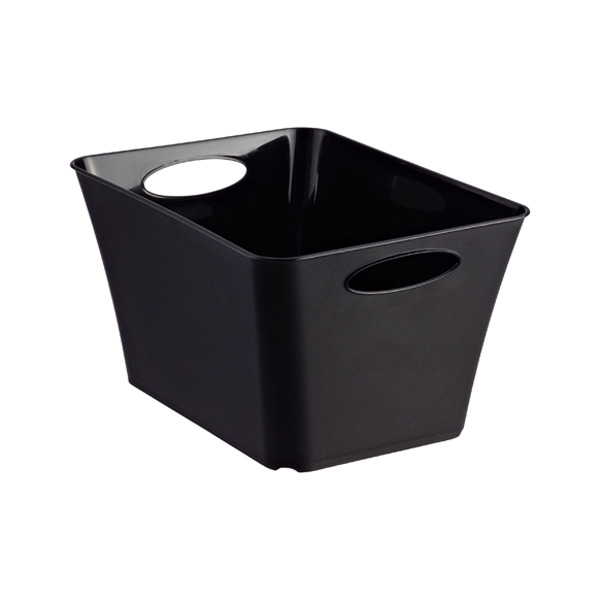 Small Taper Bin Black
