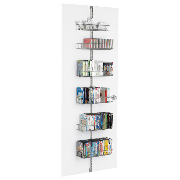 Platinum elfa Media Door & Wall Rack Solution