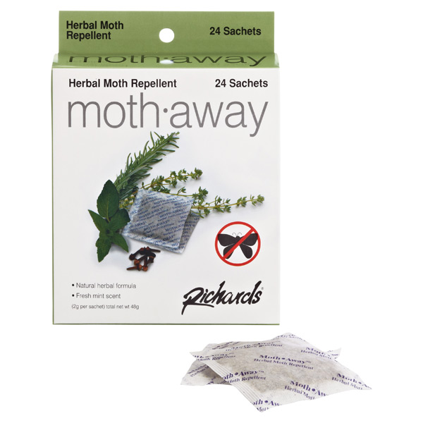 Moth-Away Repellent Sachets