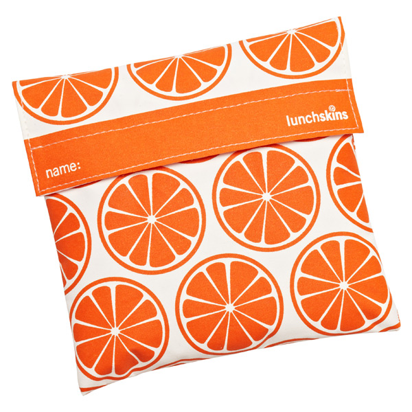lunchskins Sandwich Bag Tangerines