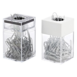 Paper Clip Dispenser & Clips