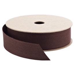 Chocolate Cotton Ribbon