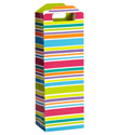 Bright Stripes Bottle Tote