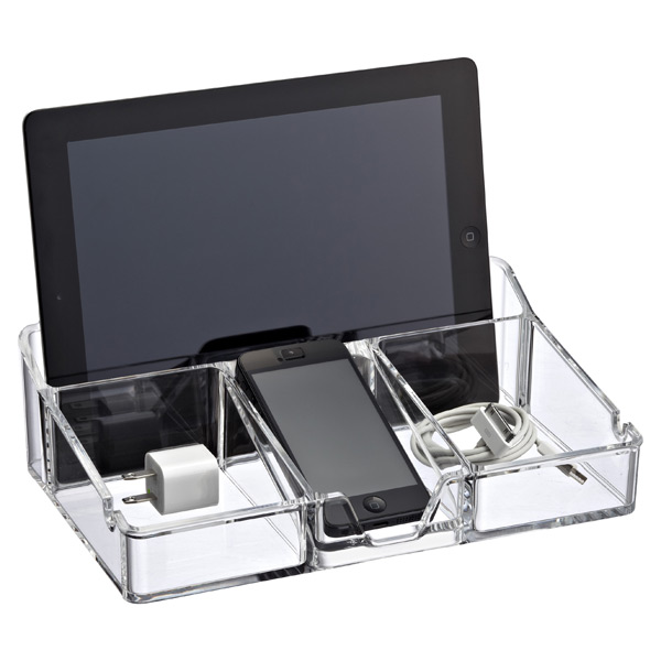 Acrylic Smart Organizer Clear