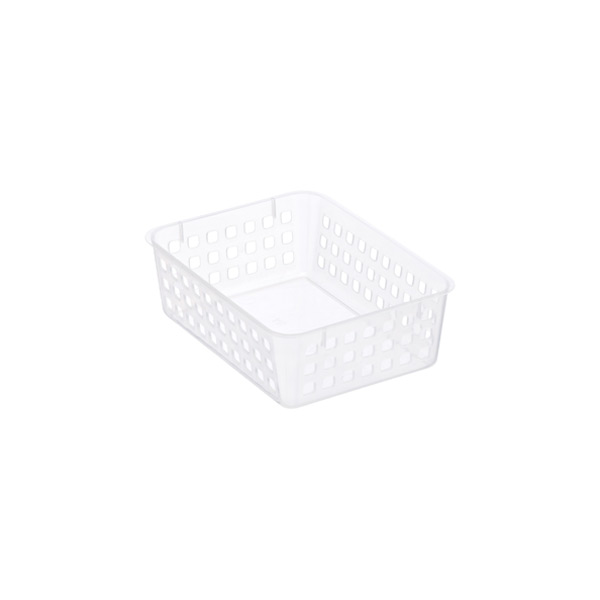 Desktop Accessory Basket Translucent