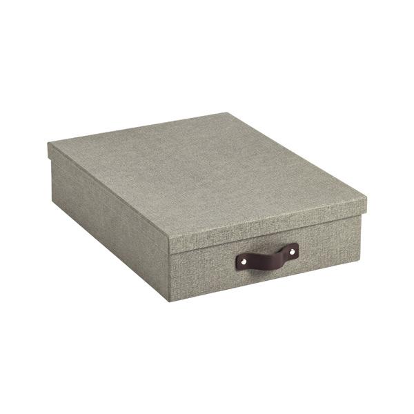 Bigso Marten Letter Box Grey