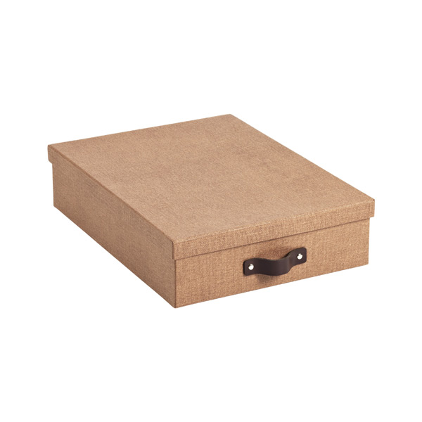 Bigso Marten Letter Box Chestnut