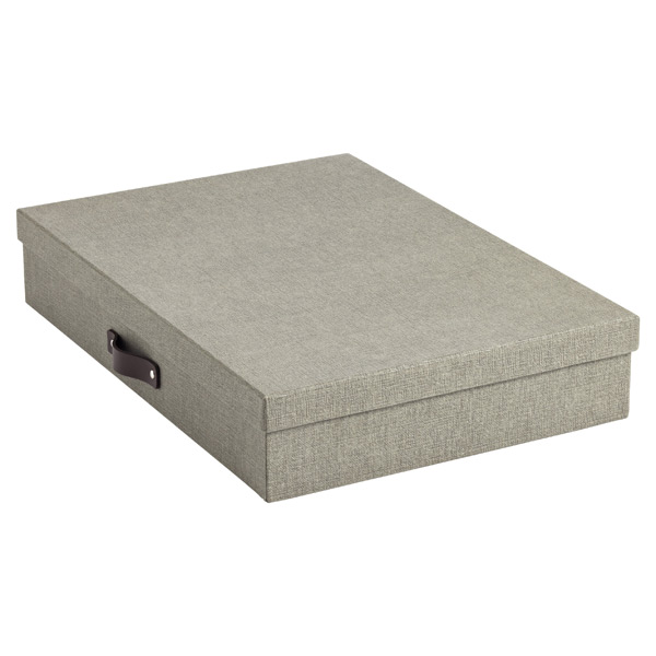 Bigso Marten Document Box Grey