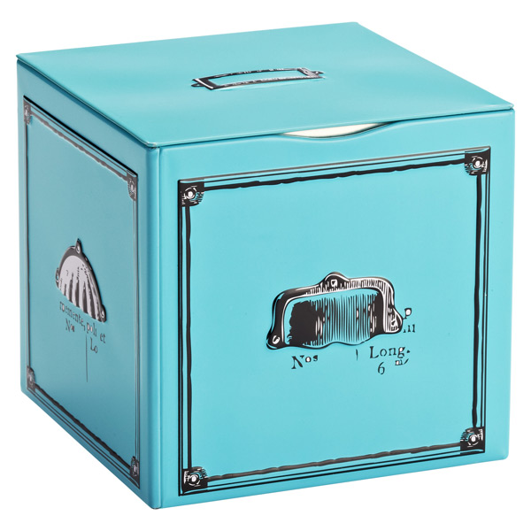 Metal Box Turquoise