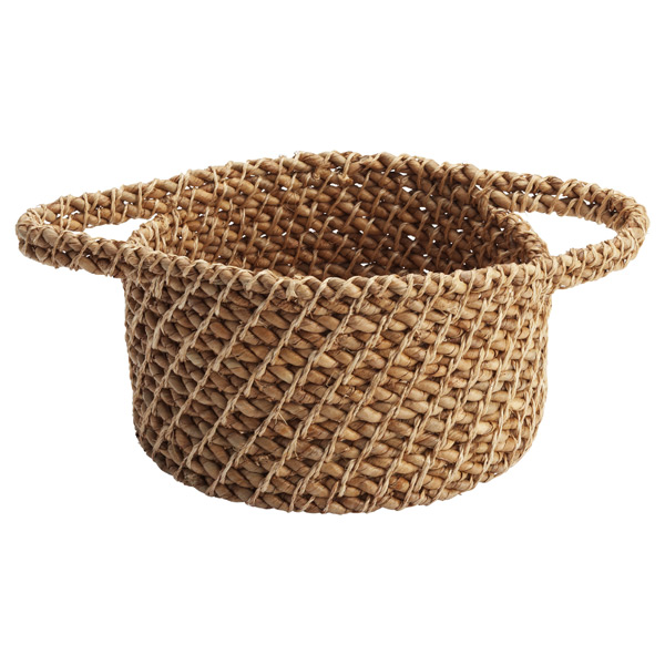 Round Rope Basket Natural