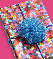 Color Theory Metallized Gift Wrap