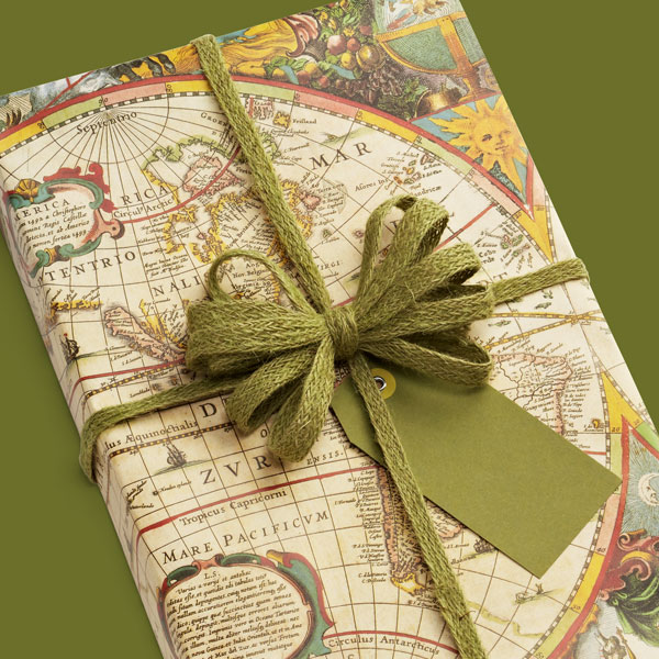 map wrapping paper Looking for the perfect gift wrapping paper for any occasion buy your gift wrap roll online now.
