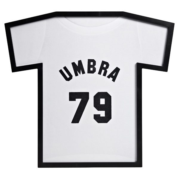 Umbra T-Shirt Display Frame Black
