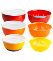 9-Piece Nesting Bowl & Colander Set by OXO®