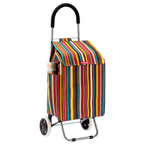 Striped Shopping Cart