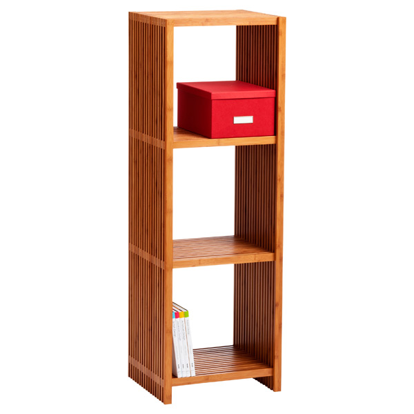 Classic Lines 4-Tier Tower Bamboo