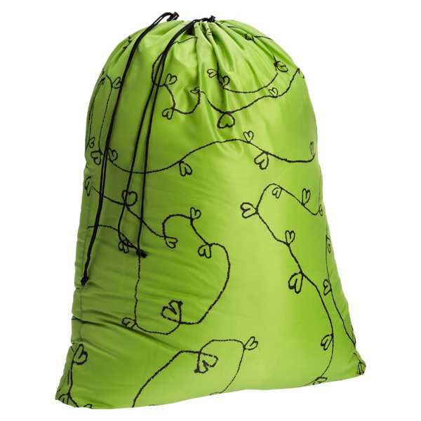 reisenthel Laundry Bag Green Hearts