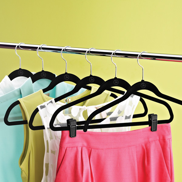 Black Huggable Hangers