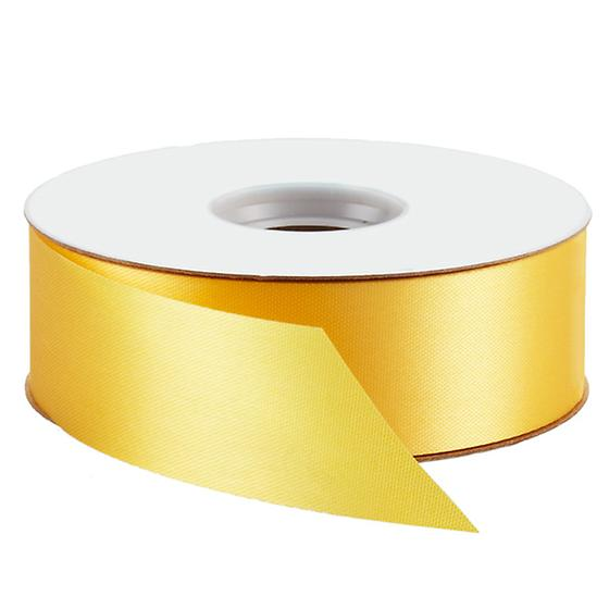 Yellow Bulk Satin Ribbon