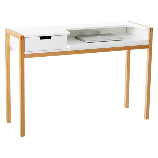 Farringdon Laptop Desk White